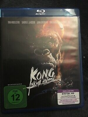 KONG - SKULL ISLAND   (BLU RAY)   (Tom Hiddleston+Samuel L. Jackson)