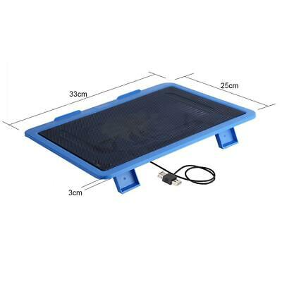 "Laptop Cooler Pad USB Big Fan CPU Coolers Radiator Cooling Stand for 14"" Laptop"
