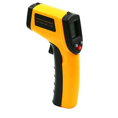 Digital Temp Meter Gun IR Non-contact Infrared Thermometer Laser Temperature A+