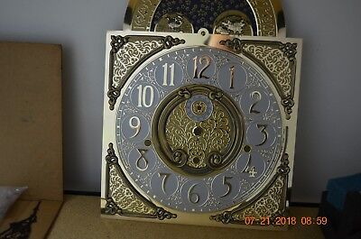 RIDGEWAY GRANDFATHER CLOCK DIAL for Hermle movement ONLY for project