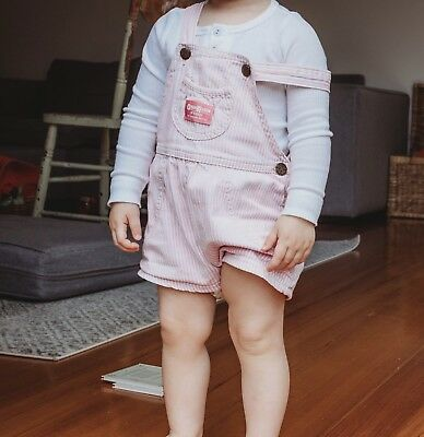 Osh Kosh Shortalls 4T (best fit for 2 year old) made in USA