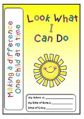 Look What I Can Do Book - Childcare, Childminding, Nursery, EYFS, baseline, star