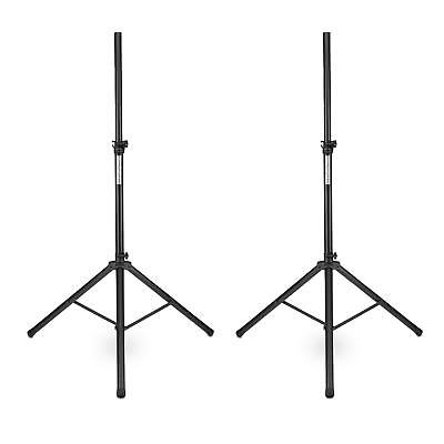 2x HIGH QUALITY SPEAKER TRIPOD STANDS KIT STAND DJ DISCO PA PAIR MAX 50KG WEIGHT