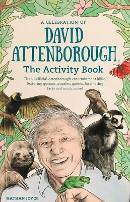 A Celebration of David Attenborough: The Activity Book [Paperback – 2018]