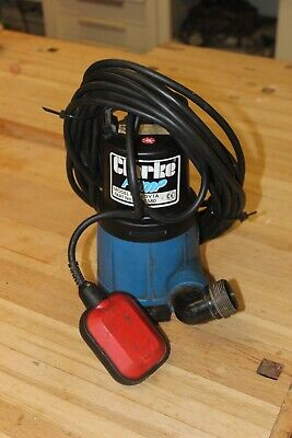 Clarke Submersible Water Pump ( Csv1A 240 Volt ) ( 10 Metres Cable )