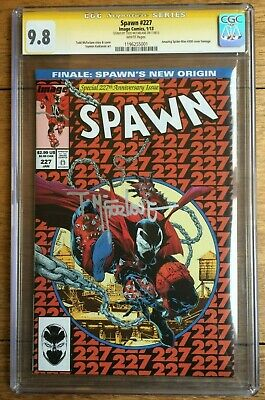 Spawn #227 Amazing Spider-Man #300 Homage CGC SS 9.8 Signed by McFarlane