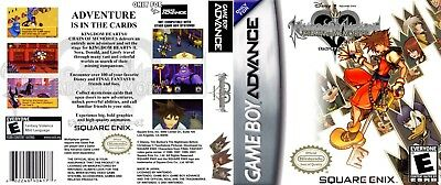 Nintendo Game Boy Advance GBA Replacement Case Kingdom Hearts: Chain of Memories