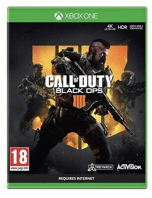 Call of Duty: Black Ops 4 Xbox One Brand New Sealed