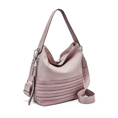 11893ff1d0 Fossil Women s Maya Small Hobo ORCHID TINT Bag ZB7650522