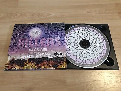 CD DAY & AGE Von The Killers, Pappschuber, top Zustand
