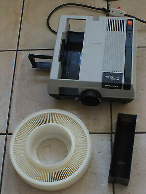Hanimex Rondette 1500A Slide projector with rotary and linear magazines. Boxed