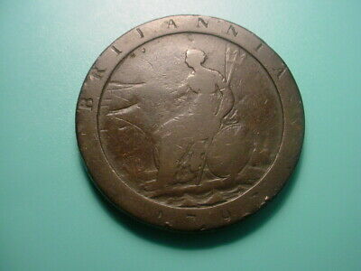 British 1797 One Pence In As Shown Condition