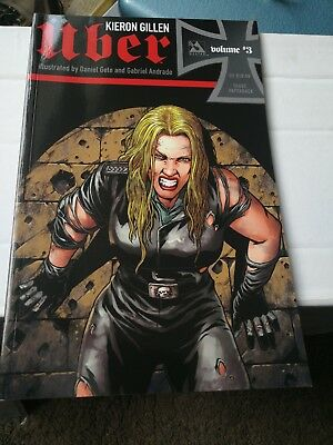 KIERON GILLEN UBER VOLUME 3 EXCELLENT CONDITION illustrated by Gete and Andrade