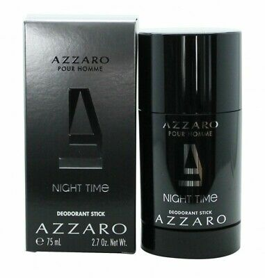 Azzaro Night Time Pour Homme Deodorant - Men's For Him. New. Free Shipping