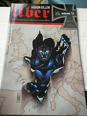 KIERON GILLEN UBER VOLUME 5 EXCELLENT cond illustrated by Gete and White