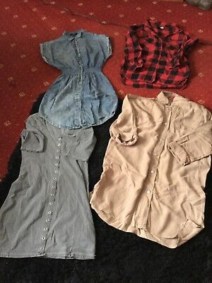Ladies Dress And Shirt Bundle In Size 8
