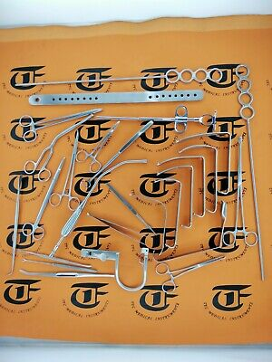 Tonsillectomy Set of 27 Pieces ENT Surgical Instruments A+ Quality By TFC