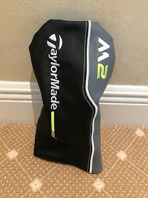 New TaylorMade M2 2017 Driver Headcover - Black/Grey/Lime