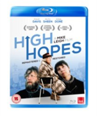 Philip Davis, Lesley Manville-High Hopes (UK IMPORT) Blu-ray NEW