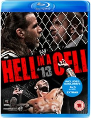 WWE: Hell in a Cell 2013 (UK IMPORT) Blu-ray NEW