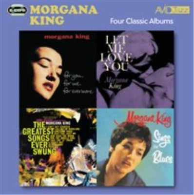 Morgana King-Four Classic Albums (UK IMPORT) CD NEW