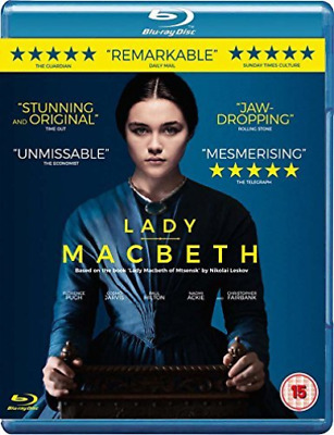 Lady Macbeth Blu Ray (UK IMPORT) DVD NEW