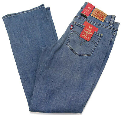 a1fb9ed7c2d Levis Women Classic Bootcut Jeans Holds It Shape Mid Rise Relaxed Stretch