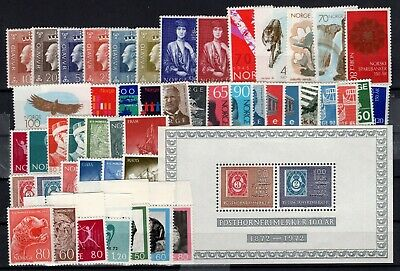P104533 / Norvege / Norway / Lot 1969 - 1972 Neuf ** / Mnh 103 €
