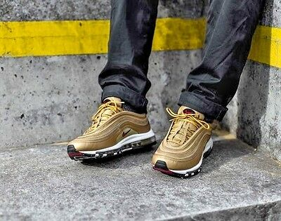 4b46be91640395 NIKE AIR MAX 97 CR7 Golden Portugal Patchwork Cristiano Ronaldo Red ...