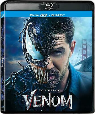 VENOM 3D (Blu-ray 2D/3D) MARVEL!! BRAND NEW!!