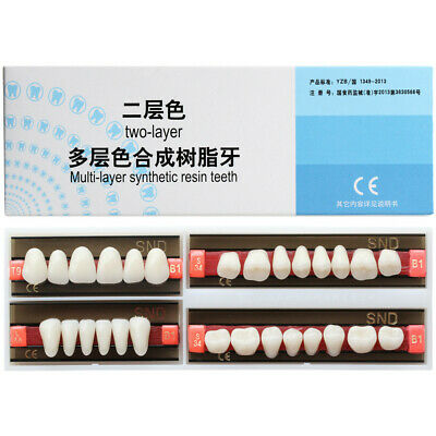 B1 Shade Full Mouth Dental Synthetic Resin Teeth Denture False Tooth all Type
