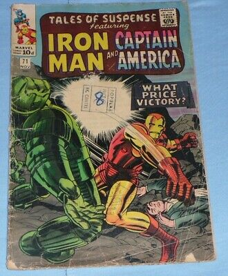 Tales Of Suspense 71# November 65# What Price Victory And Great At 2.99P