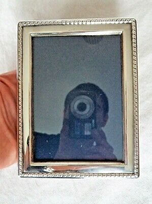 Large Vintage 1989 Sterling / Solid Silver Photograph Frame