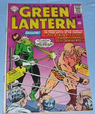 Green Lantern 39# Sept 65 The Fight Of Champions, And A Good Comic,