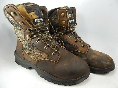 RealtreeX Camo Guide Gear Men/'s Waterproof Timber Ops Hunting Boots Size 9D