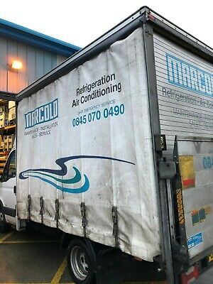 Curtain Side Box Body with Tail Lift – IVECO Daily 2008 (Vehicle not included)