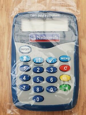 NEW Nationwide Pinsentry Bank Card Reader PIN Security Barclays Natwest