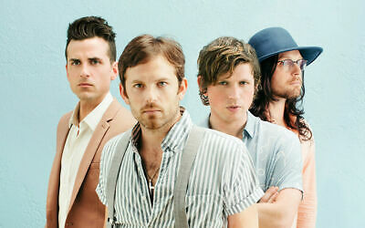 KINGS OF LEON * 4 TIckets * Parking * HLSR * Sec 122, Row K * TUES 3/12