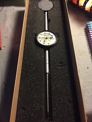 "Starrett No. 25-3041 Dial Indicator .001 0-3"" Excellent Condition"