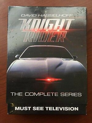 Knight Rider: The Complete Series (DVD, 2016, 16-Disc Set) New - Sealed!