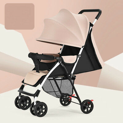 Baby Stroller Infant Carriage Foldable Pram Pushchair Winter Summer Supply d