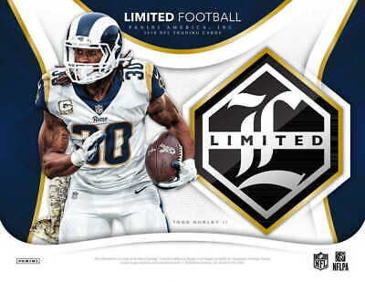 2018 Panini Limited NFL Football - Pick Your Card - Complete Your Set - #1-100