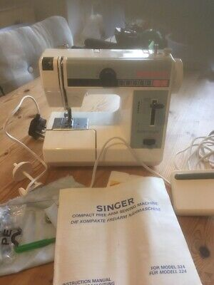 Vintage Singer 324 Compact Free-Arm Electric Sewing Machine