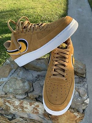 0698a78f924b Nike Air Force 1  07 LV8 Low Muted Bronze Yellow Ochre White 823511-204