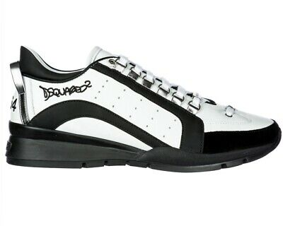 DSQUARED SCARPE UOMO sneakers in pelle Low Top SNM0404