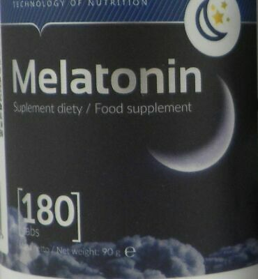 OSTROVIT Melatonin 1 mg 180/360/540/900 tablets Natural Sleep Relax & Recovery