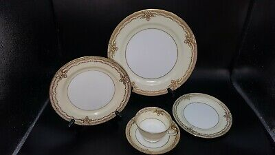 NORITAKE GALATEA 5 Piece Place Setting (S) Multiples Available