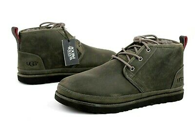 15b39b5ac3e UGG FOR MEN Boots Neumel Ripstop Textile / Leather Charcoal Grey US ...