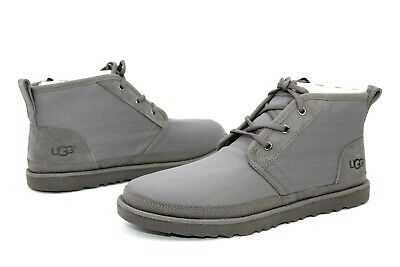 36d0926a4d8 UGG FOR MEN Boots Neumel Ripstop Textile / Leather Charcoal Grey US Size 11  US