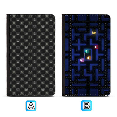 Kingdom Hearts Funny Game Passport Holder PU Leather Cover Travel Wallet ID